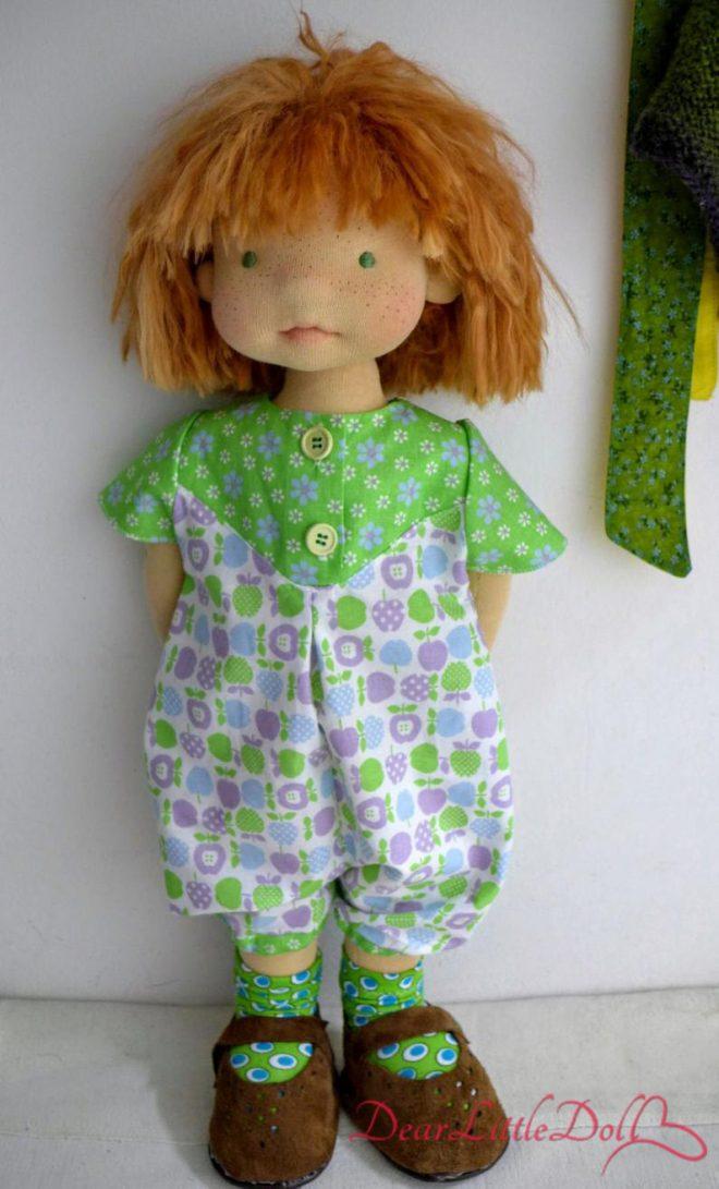 Waldorf doll romper pattern3
