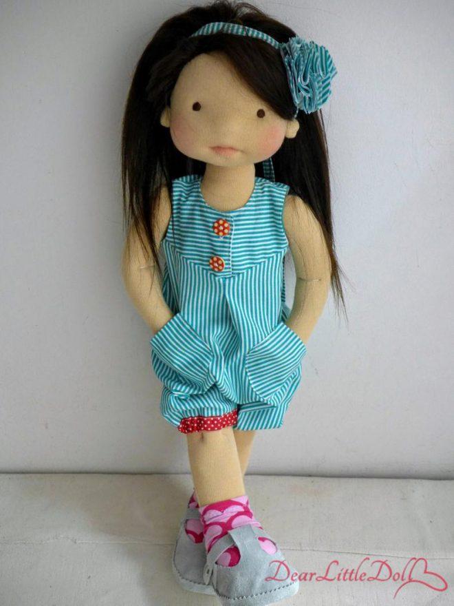 Waldorf doll romper pattern4