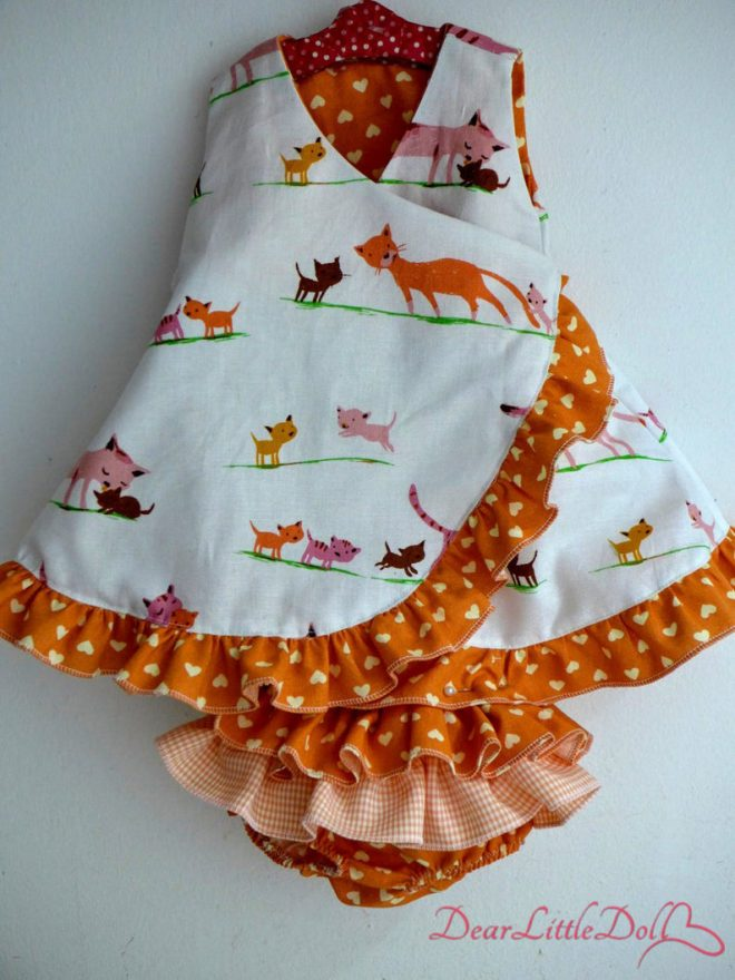Waldorf doll dress and bloomers2