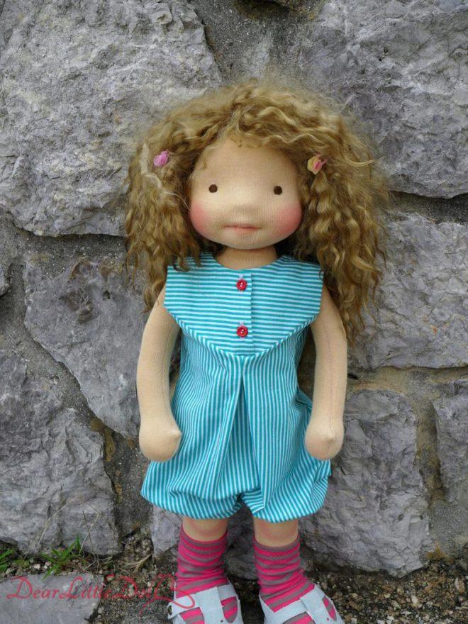 Waldorf doll romper pattern5