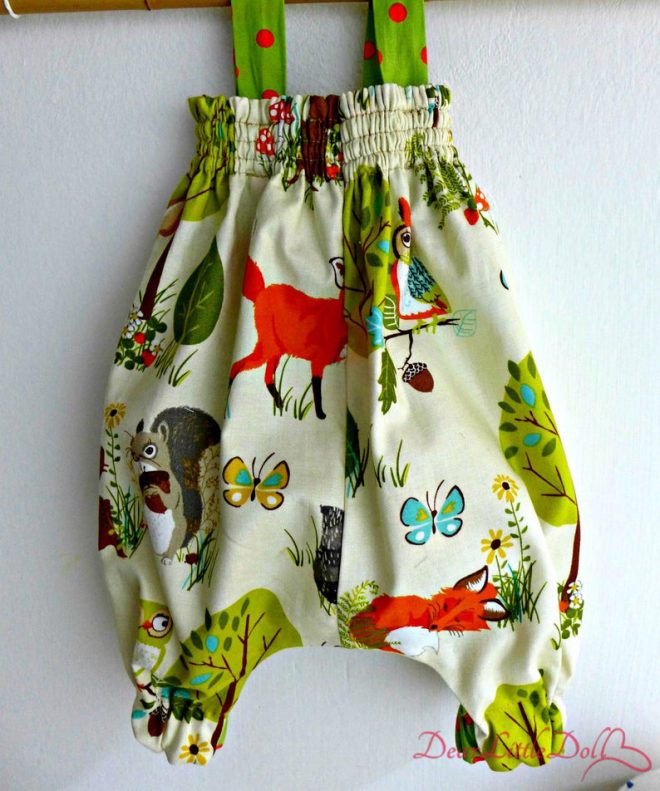 Waldorf doll clothing rompers 5