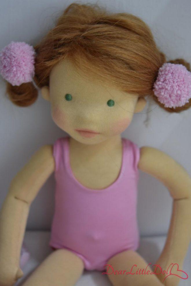 Waldorf doll ballerina