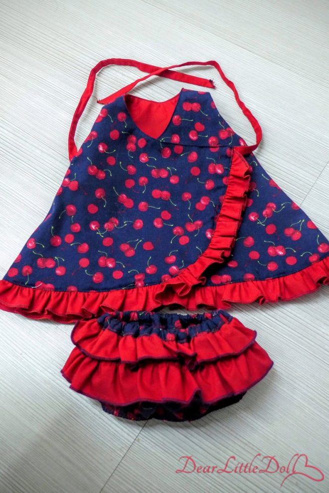 Waldorf doll dress and bloomers9