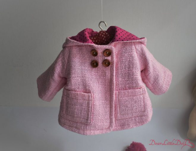 Waldorf doll clothing coat2