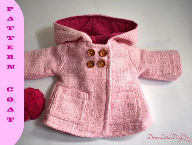 Waldorf doll clothing coat5