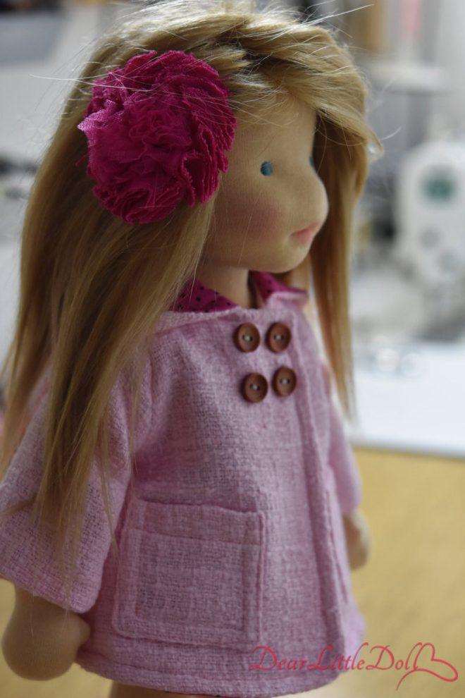 Waldorf doll clothing coat7
