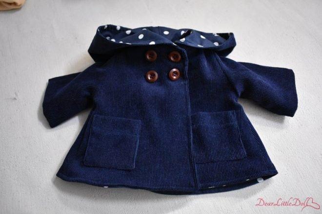 Waldorf doll clothing coat8