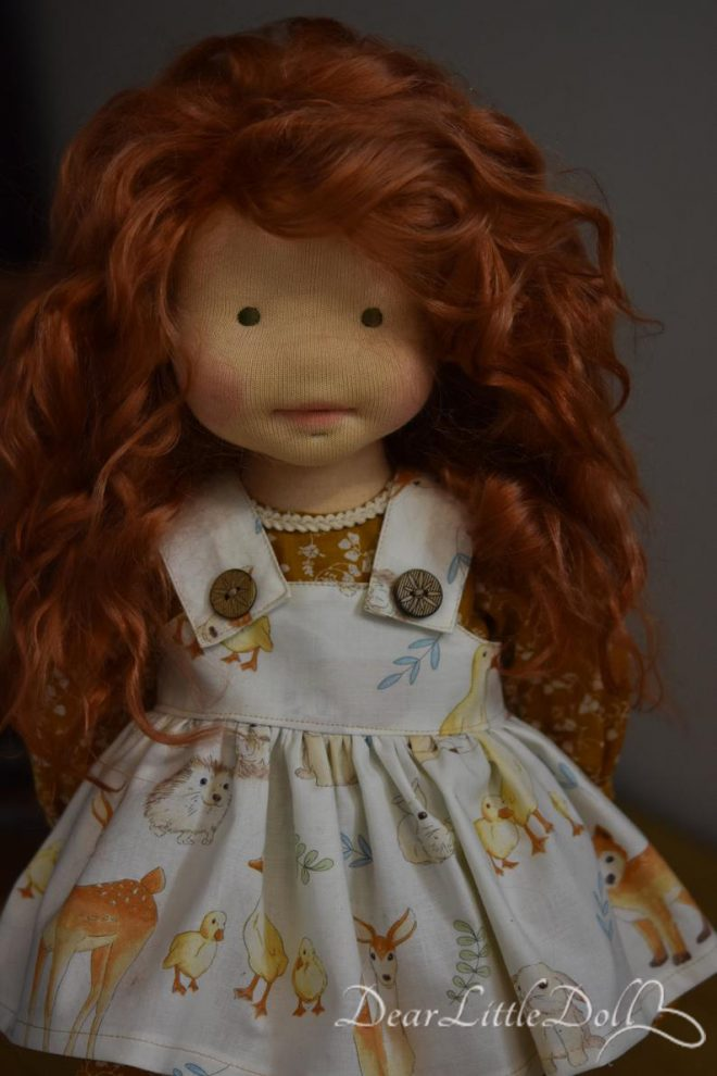 Doll pattern and tutorial - dress 2