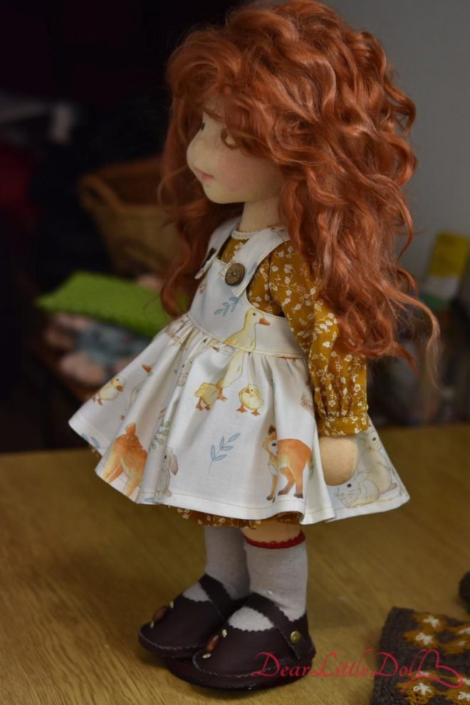 Doll pattern and tutorial - dress4