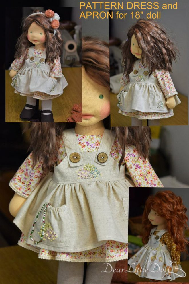 Doll pattern and tutorial - dress