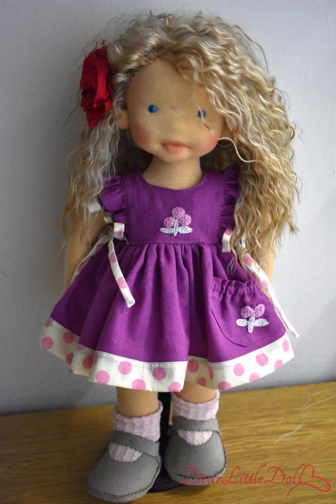 Waldorf doll pflutter sleeves6