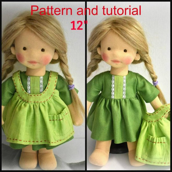 Doll pattern and tutorial