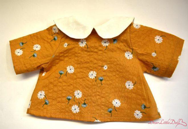 Waldorf doll pattern apron4