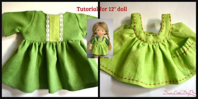 Doll pattern and tutorial 3