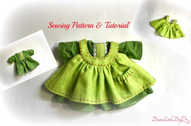 Doll pattern and tutorial 8