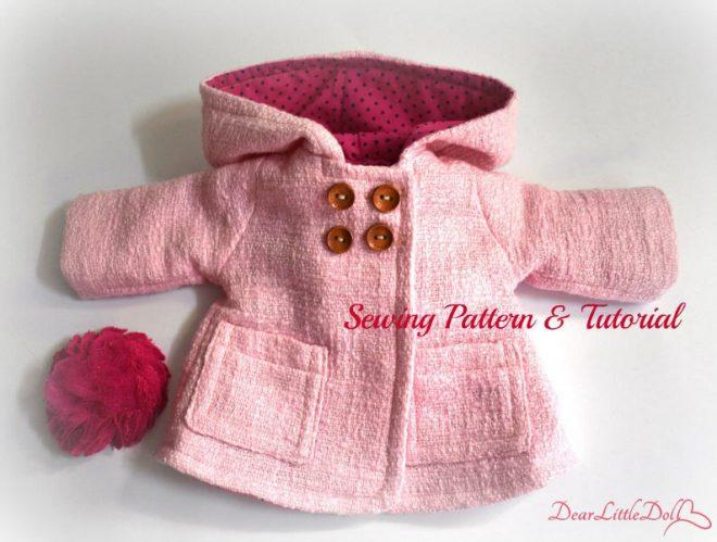 Waldorf doll clothing coat9