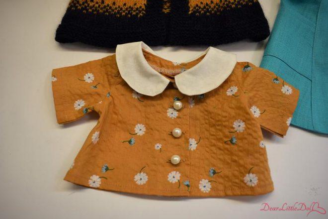 Waldorf doll pattern apron8