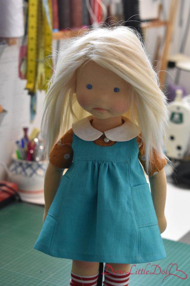 Waldorf doll pattern apron6
