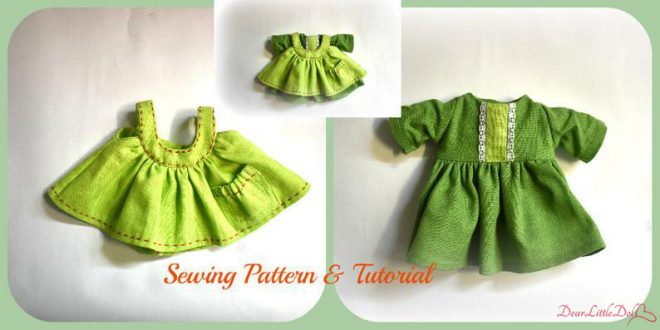 Doll pattern and tutorial 1