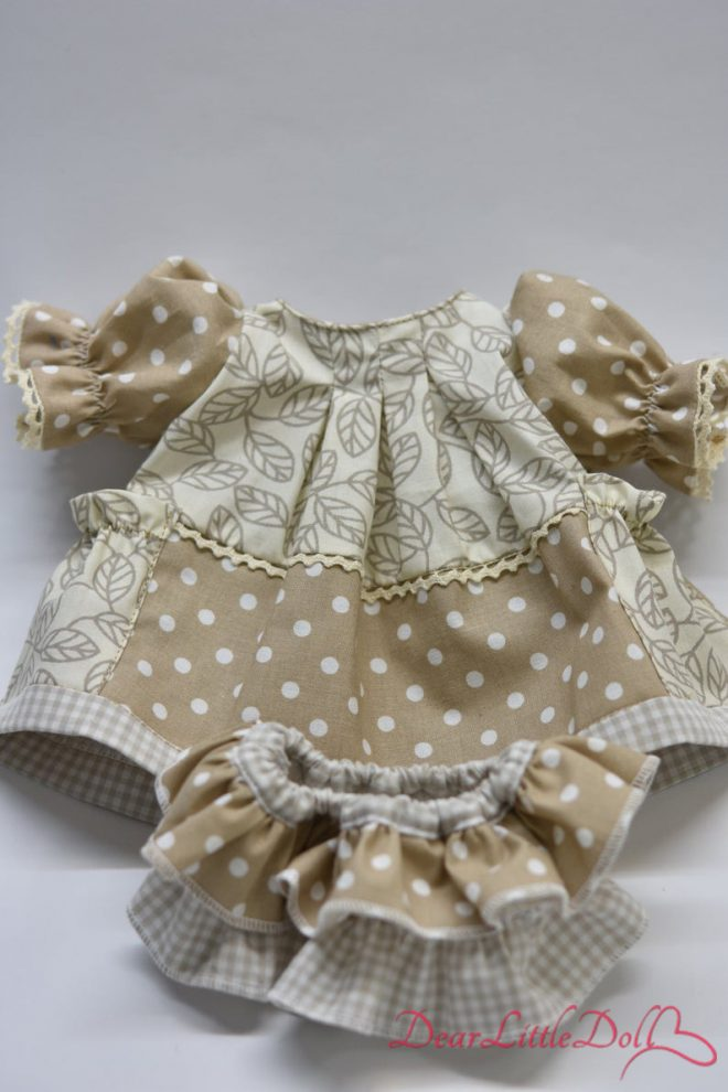 Waldorf doll pattern dress7
