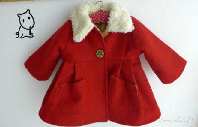 Waldorf doll red coat2