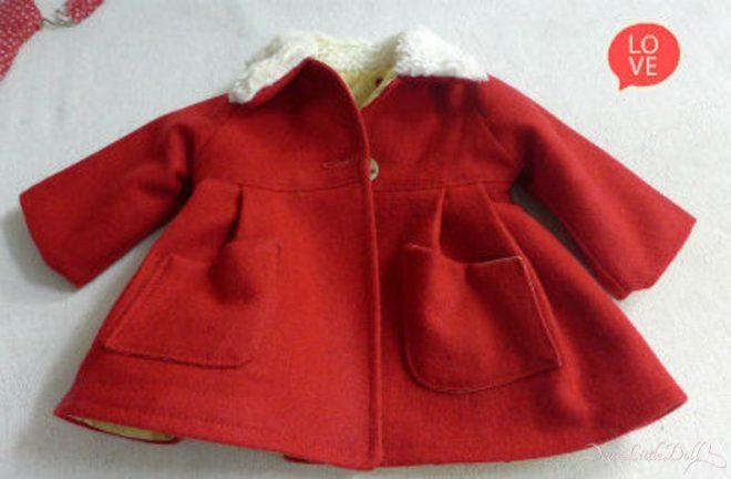 Waldorf doll red coat4