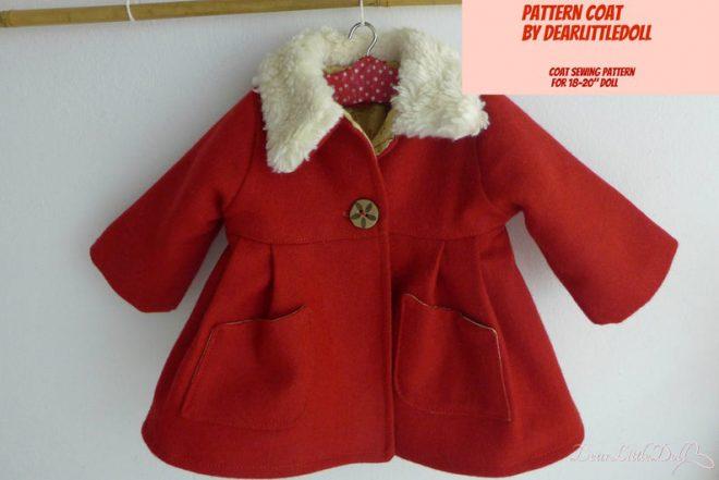 Waldorf doll red coat
