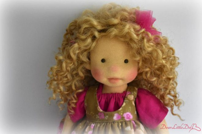 Waldorf doll body and clothing1