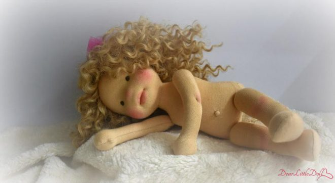 Waldorf doll body and clothing3