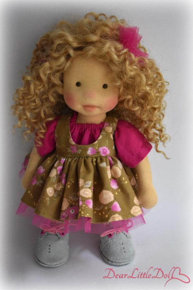 Waldorf doll body and clothing5
