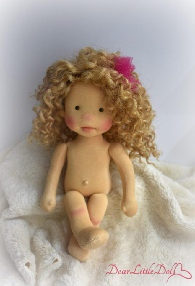Waldorf doll body and clothing6