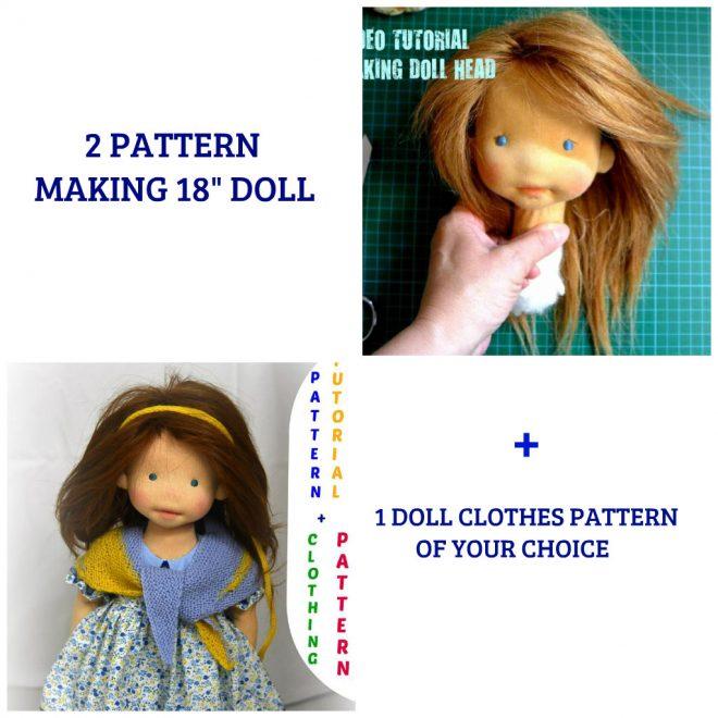 Video tutorial making doll head