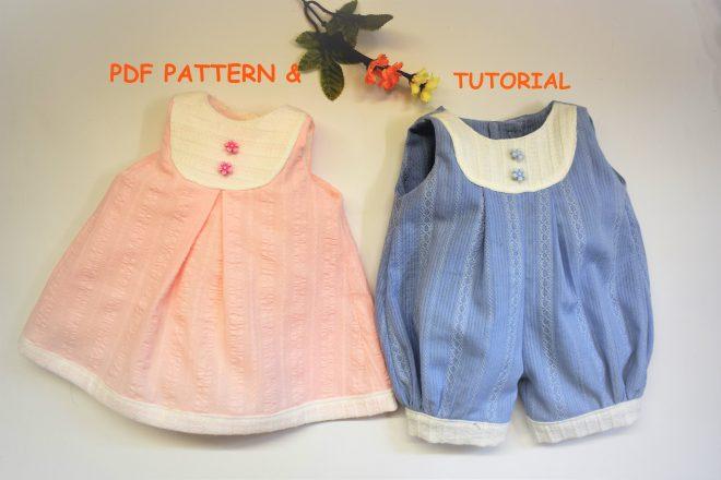 Doll pattern Bib yoke2